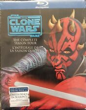 Star Wars The Clone Wars The Complete Season Four Blu ray Bilingual Brand New