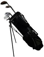 Herren Golfset Halbsatz Komplettset Rechthand Standbag Holz 3 4 Eisen 7 9 Putter