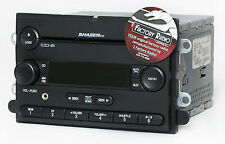 Reman and Aux Mod SERVICE for 2007 Ford Mustang AM FM 6 Disc CD Shaker 500 Radio
