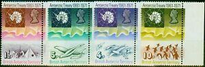 British Antarctic Territory 1971 Treaty Set of 4 SG38-41 V.F MNH
