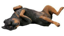 Sandicast Original size Rottweiler (OS471) Large Figurine - Laying on its Back