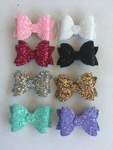 Baby/Toddler 7.5cm Glitter Headbands/Piggy Clips