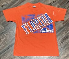 New listing Vintage University Of Florida Gators Single Stitch Orange T-shirt Tee Medium Usa