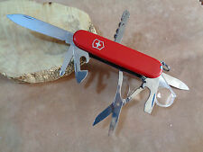 VICTORINOX COLTELLO KNIFE SWISS ARMY EXPLORER  RED  16 FUNCTIONS 206703