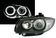 LUCES FAROS LED D1 ANGEL EYES BMW SERIE 1 E81 E87 2004-2011 116 118 120 123 130