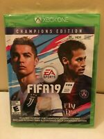XBOX ONE EA SPORTS FIFA 19 CHAMPIONS EDITION BRAND NEW FACTORY SEALED!