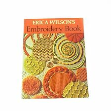 Erica Wilson's  Embroidery Book Published by Charles Scribner's Sons