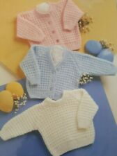 Knitting Baby Cardigans Patterns For Sale Ebay