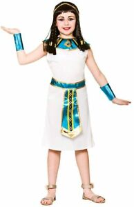 Girls Cleopatra Costume Egyptian Princess Fancy Dress Ages 5/6/7 Years