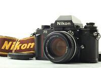 NEAR MINT+3 Nikon F3 Black 35mm SLR Film Camera w/ Nikkor 50mm f1.4 ai-s JAPAN