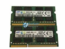 Samsung 16GB (8GBx2) PC3-12800 DDR3 204-PIN LAPTOP MEMORY RAM MacBook Pro