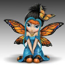 Butterfly Kisses Fairy Figurine Jasmine Becket Griffith Butterfly Wishes