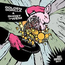 GOLDEN GORILLA / GHOST OF WEM split LP NEW eyehategod, thou, moloch