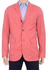 Polo Ralph Lauren 44L Rose Red Pima Cotton Hampton Chino Blazer Sportcoat Jacket