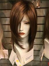 SIN CITY WIGS! JACKSON BY NORIKO IN ALMOND SPICE LONG STRAIGHT SLEEK LAYERS BODY