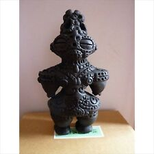 Dogu Jomon period Haniwa Clay Statue Figure replica earthen Doll Image Rare F/S