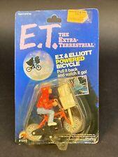 Brand New 1982 E.T. ~ ET and ELLIOTT POWERED BICYCLE ~ MOC BIKE FIGURE LJN -1