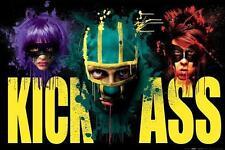 Kick Ass : Heads - Maxi Poster 61cm x 91.5cm (new & sealed)