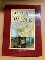 "5052cmATLAS De Vino"" Vinos Of The World Illustrated Pesado Libro Tapa Dura ( Xx)"
