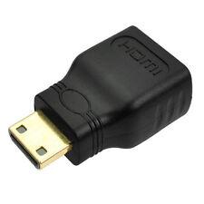 Anschluss Konverter für HDTV Mini HDMI(Type C) Stecker to HDMI(A) Buchse Adapter