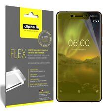 3x Nokia 6.1 2018 Film de protection d'écran, recouvre 100% de l'écran, dipos
