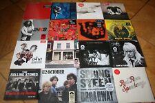 LP Sammlung Colored U2 REM Rolling Stones Springsteen Cream AHA McCartney INXS