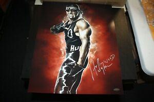 "WWF WWE WCW HULK HOGAN SIGNED 16X20 PHOTO ""HOLLYWOOD"" NWO TRISTAR CERT"