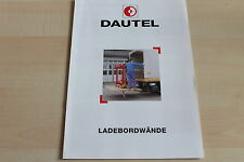 150139) Dautel Ladebordwand Prospekt 09/1996