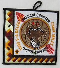 OA Lodge 265 O-Shot-Caw eX1999-3 S-4 Delegate; Paladini Chapter; FDL  [B0245]