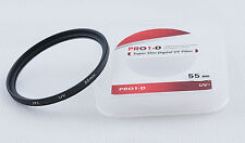 JYC 55mm UV Ultra Violet Filter Lens Protector for DSLR Camera camcorder