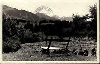 MITTELBERG Allgäu 1953 Alpen Berge Panorama AK alte Postkarte Ansichtskarte