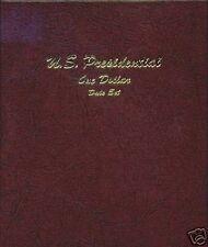 DANSCO U.S. Presidential Dollar Date Set Album #7186