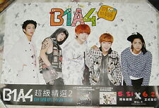 B1A4 SUPER HITS 2 2013 Taiwan Promo Poster