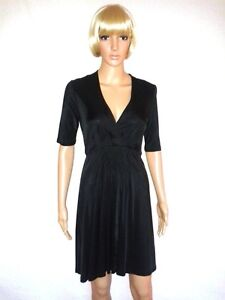 WAREHOUSE Black Evening Dress. Formal, Casual or Cocktail Party.  SIZE 12