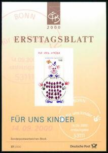 GERMANY ETB 2000 CIRCUS CIRQUE ZIRKUS CLOWN CLOWNS z3223