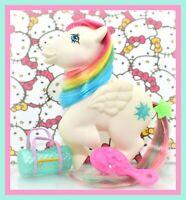 ❤️My Little Pony G1 Vtg ITALIAN Italy Rainbow STARSHINE BIANCO Pegasus NIRVANA❤️