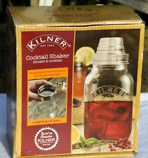 Kilner Glass Cocktail Shaker Boxed Unwanted Gift