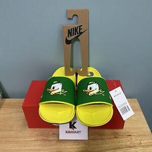 Nike OFFCOURT Slide Oregon Duck Green Yellow DA4853-300 Men's Size 7 & 13