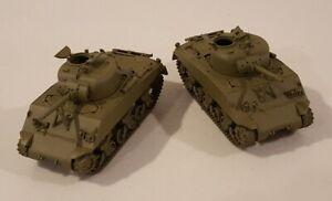1/72 20mm WWII M4 Sherman Tank wargame models