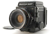 [EXC+5] Mamiya RB67 Pro S +127mm f3.8 + 120 Film Back From JAPAN #904