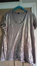 Waist Length Short Sleeve Regular Size TU T-Shirts for Women
