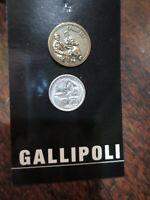 Australian Gallipoli Anzac Simpson & Donkey Badge Lapel Pin