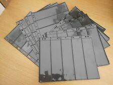 14 used Lighthouse Vario Stocksheets 5 pockets 21.8x28.3 2-sided Ref XM2