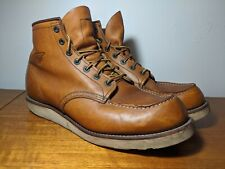 Red Wing 875 Classic Moc 6 Inch Boot - Oro Legacy US 12 UK 11 EU 46 RRP $528!!!!