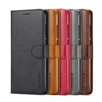 Magnetic Flip Leather Stand Cover Wallet Case For Samsung Galaxy A5 2018/A7 2018
