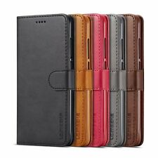 Magnetic Flip Leather Card Slots Stand Protec Cover Wallet Case For OnePlus 5 5T
