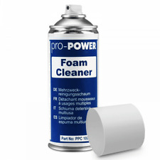 More details for pro power foam cleaner for all hard surfaces 400ml aerosol spray canister