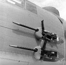WWII B&W Photo USAAF B-25 Mitchell Side Guns Install  World War Two WW2 / 5167