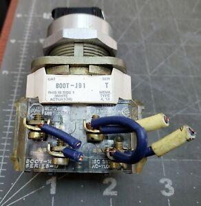 Allen Bradley 800T-J91 SER T Three Position Momentary Selector Switch [Z5B4]