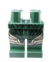 Lego Beine in dunkelgrün für Minifigur 970c00pb0729 Hosen Aquaman Neu